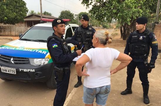 Polícia Militar registra o primeiro TCO em Monte Negro/RO