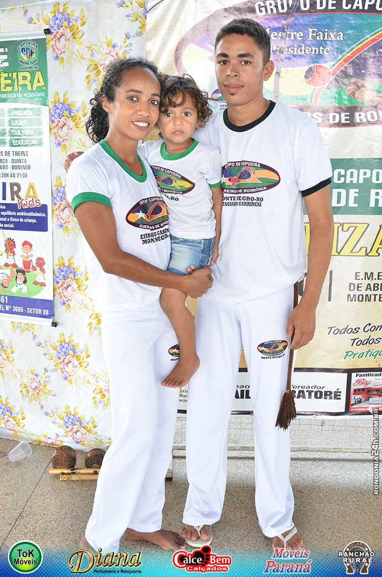 PRIMEIRO BATIZADO DO GRUPO CAPOEIRA GUERREIROS DE RONDÔNIA