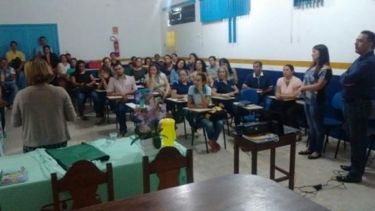 Programa Alfabetização na Idade Certa é destaque em encontro realizado pela SEMED, em Monte Negro