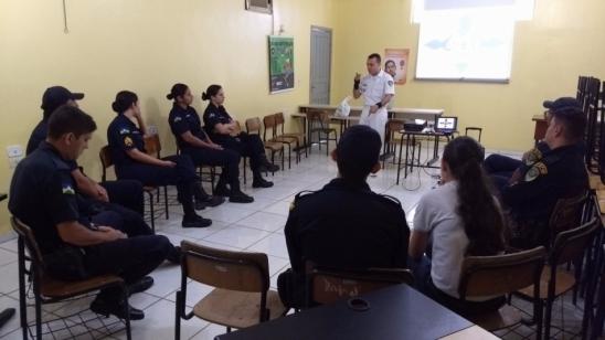 Saúde Itinerante: Campanha Setembro Amarelo é levada as unidades do 7°BPM