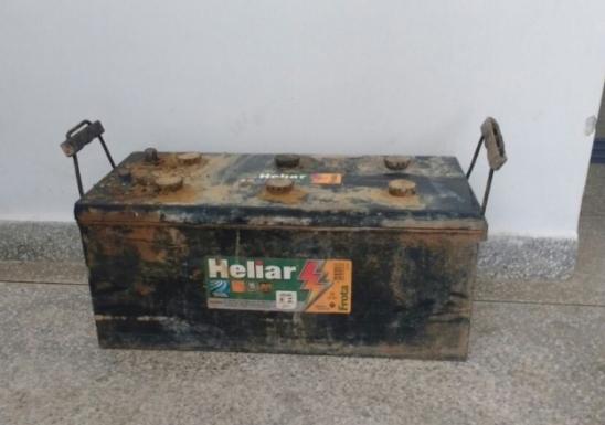 Patrulha Bravo recupera bateria furtada de caminhão