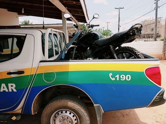 PM em Alto Paraíso recupera mais uma moto