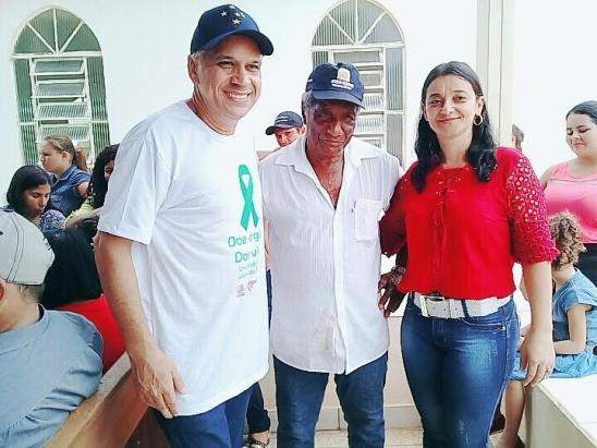 Vereadora Marineide Rodrigues participa do Dia das Crianças na Comunidade Nossa Senhora Aparecida