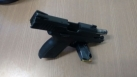 Ariquemes: Durante revista veicular PM encontra pistola 380 e munições
