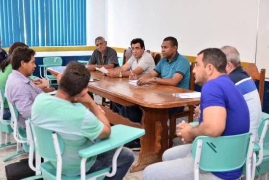 Prefeito participa de reunião do Conselho Municipal de Desenvolvimento Rural – CMDR, em Monte Negro