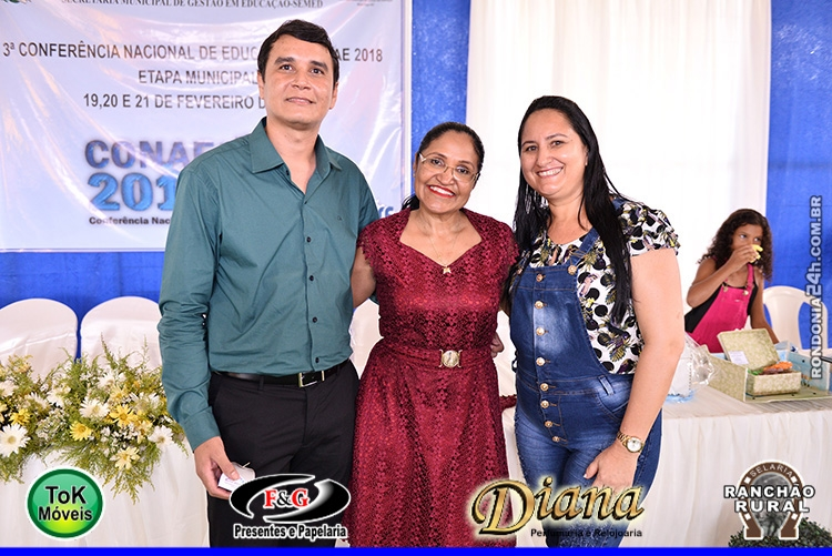 SEMED REALIZA ETAPA MUNICIPAL DE MONTE NEGRO/RO - CONAE 2018