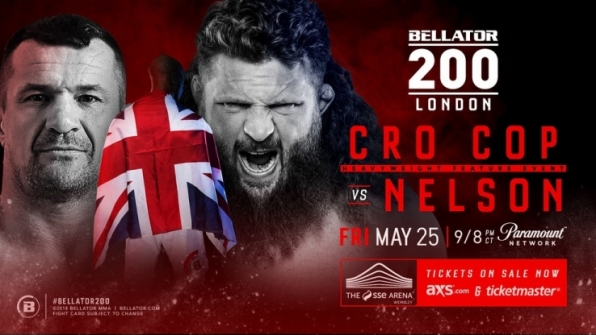 Bellator anuncia combate entre Cro Cop e Roy Nelson para a edição 200, em Londres