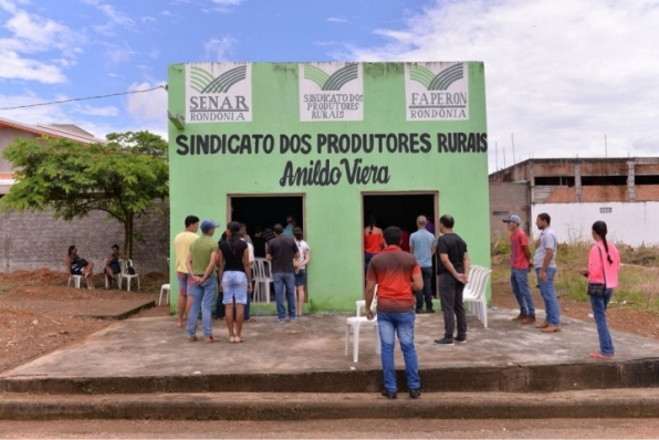 Inauguração da nova Sede do Sindicato Rural Anildo Vieira, em Monte Negro