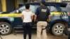 Mulher foragida da justiça é presa pela PRF em abordagem na BR 364