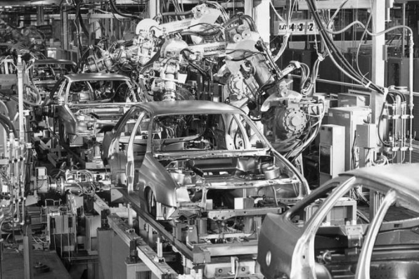 Há robôs em todo lugar, menos nas estatísticas de produtividade
