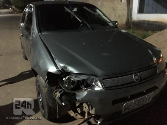 Monte Negro: Menina de bicicleta é atropelada na Rua Samuel Lopes do setor 03