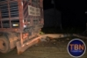Buritis: Caminhão derruba poste da rede elétrica e causa apagão