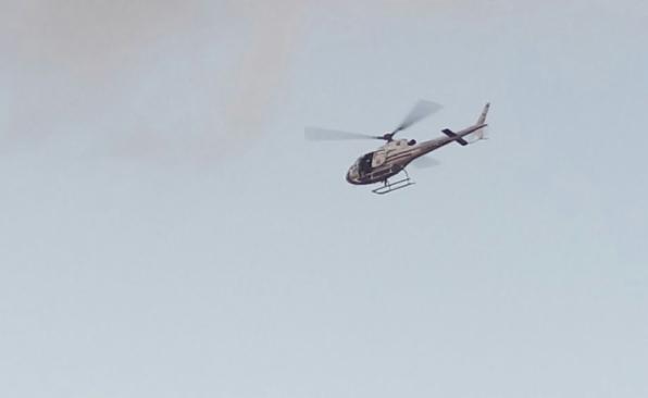 Tiroteio e perseguição com helicóptero assustam moradores em Monte Negro, RO