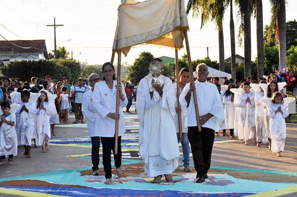 Paróquia São José celebra Corpus Christi 2018