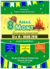 Prefeitura realizará o 8° Arraiá Mont em Monte Negro, RO