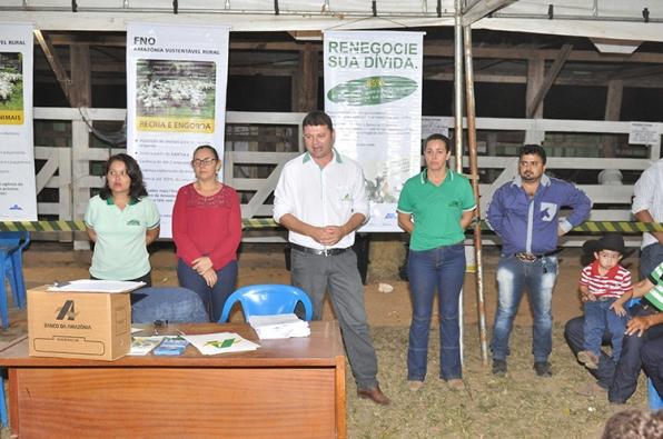 EMATER viabiliza 1 milhão com o BASA para agricultores no 1º Encontro de Pecuarista de Monte Negro