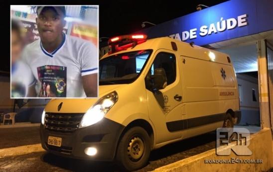 """Filho da """"Naná"""" morre após ser baleado no final da rua dos Buritis de Monte Negro, em RO"""