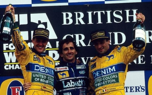 Alain Prost foi o primeiro piloto a atingir 50 vitórias na Fórmula 1, há 25 anos