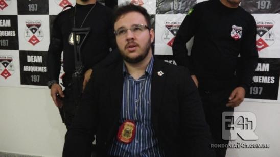 Delegacia de Policia Civil de Monte Negro elucida homicídio no Garimpo Bom Futuro