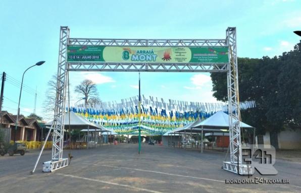 É Hoje! Prefeitura de Monte Negro realiza o 8º Arraiá Mont