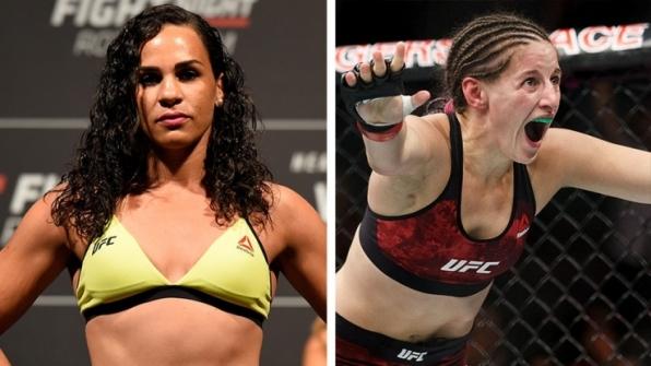 Vinda de duas derrotas, Talita Bernardo encara Sarah Moras no UFC Moncton
