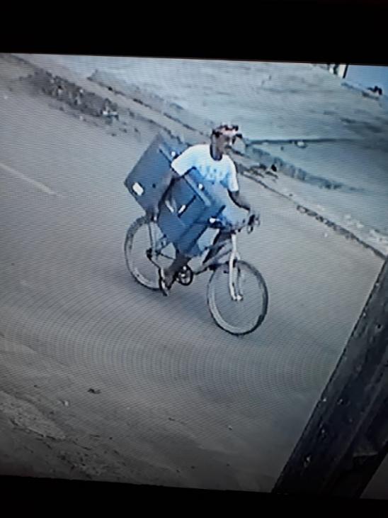 Suspeito de furtar televisão no setor 06 afirma que imagem é montada, não é eu nesta foto