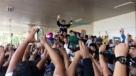 Jair Bolsonaro chega a Porto Velho e é recebido por multidão