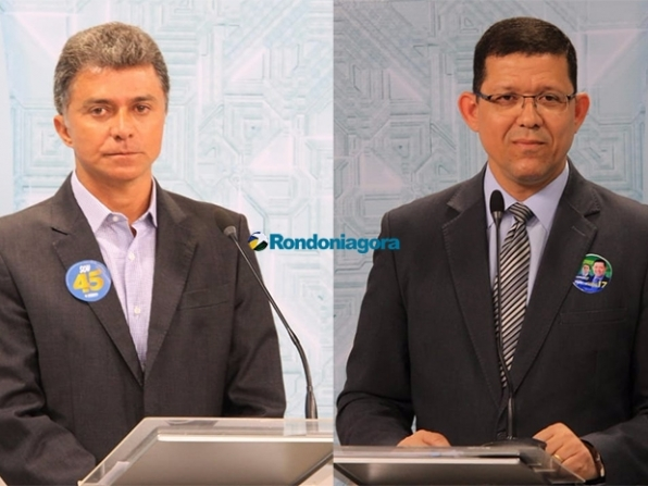 Expedito e Marcos Rocha disputam o segundo turno das eleições em Rondônia