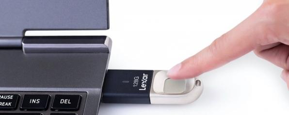 Lexar lança USB com leitor de digital por menos de US$ 35