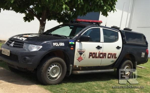 Serviço de Investigação do Policia Civil de Monte Negro lucida homicidio do filho da