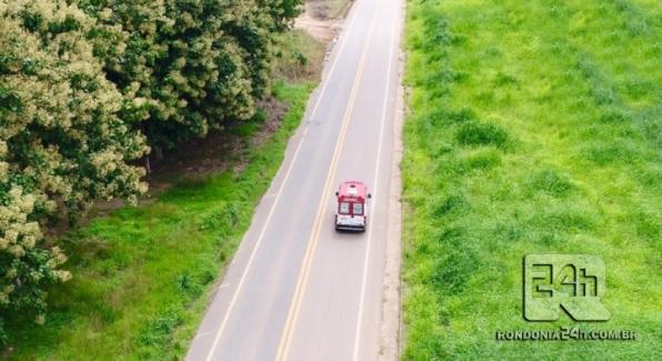 Colisão entre veículos deixa pessoas e crianças feridas na BR 421, em Monte Negro