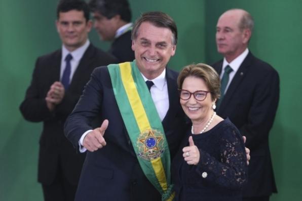 Brasil é modelo a ser seguido, não transgressor, diz Tereza Cristina