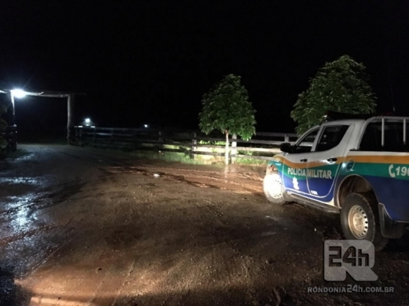 Polícia militar de Monte Negro surpreende quadrilha durante roubo á sitio na BR 421, em RO
