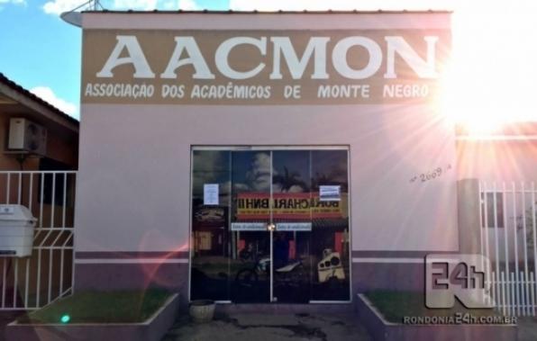 Abertas as matriculas da Associação dos Acadêmicos de Monte Negro (AACMON), em RO