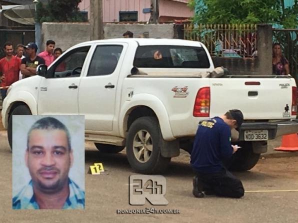 Monte Negro: Comprador de gado é executado a tiros dentro de camionete, em RO