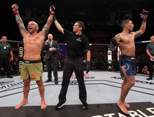 Thiago Pitbull supera Max Griffin após decisão polêmica dos jurados no UFC Fortaleza