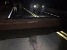 Ponte desmorona na BR-364, abre buraco de 9 metros e viagens de ônibus são suspensas em RO