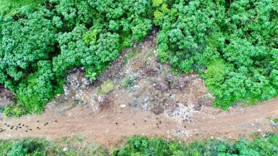Prefeitura deve intensificar a fiscalização no descarte irregular no antigo lixão de Monte Negro, RO