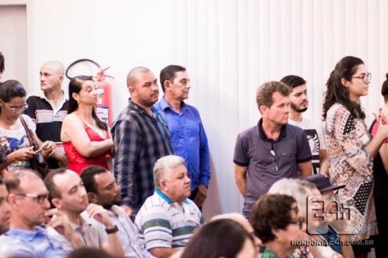 Vereadores de Monte Negro participam de audiência no MP sobre aumento de tarifa de energia, em RO