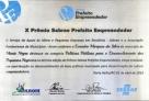 """Evandro Marques recebe prêmio de """"Prefeito Empreendedor"""" pelo SEBRAE"""