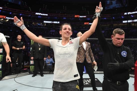 Após vencer no Ultimate, Marina Rodriguez se anima: