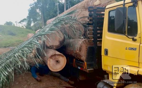 Motorista morre esmagado durante carregamento de caminhão, em Monte Negro