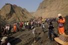 Dezenas de pessoas ficam desaparecidas após deslizamento de terra em mina de jade de Mianmar