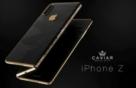 iPhone : conceito de luxo com tela dobrável em 3 partes