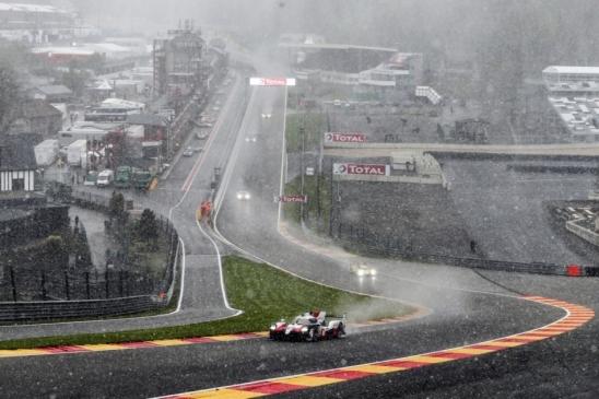 Com neve em Spa-Francorchamps, trio de Fernando Alonso vence pelo Mundial de Endurance