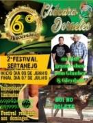 2º Festival de Interpretação da Música Sertaneja na Chácara Dorneles, em Ariquemes