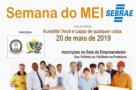 Oportunidade: Palestra do SEBRAE gratuita para população na segunda-feira (20), em Monte Negro