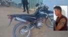 PM do distrito de 5º Bec recupera moto roubada da Prefeitura de Machadinho e prende suspeito