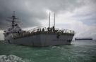 Pentágono confirma que tentaram esconder navio com nome de rival de Trump