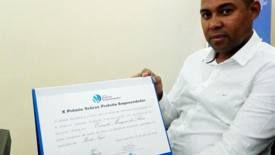Monte Negro é finalista na etapa nacional do prêmio Prefeito Empreendedor do Sebrae